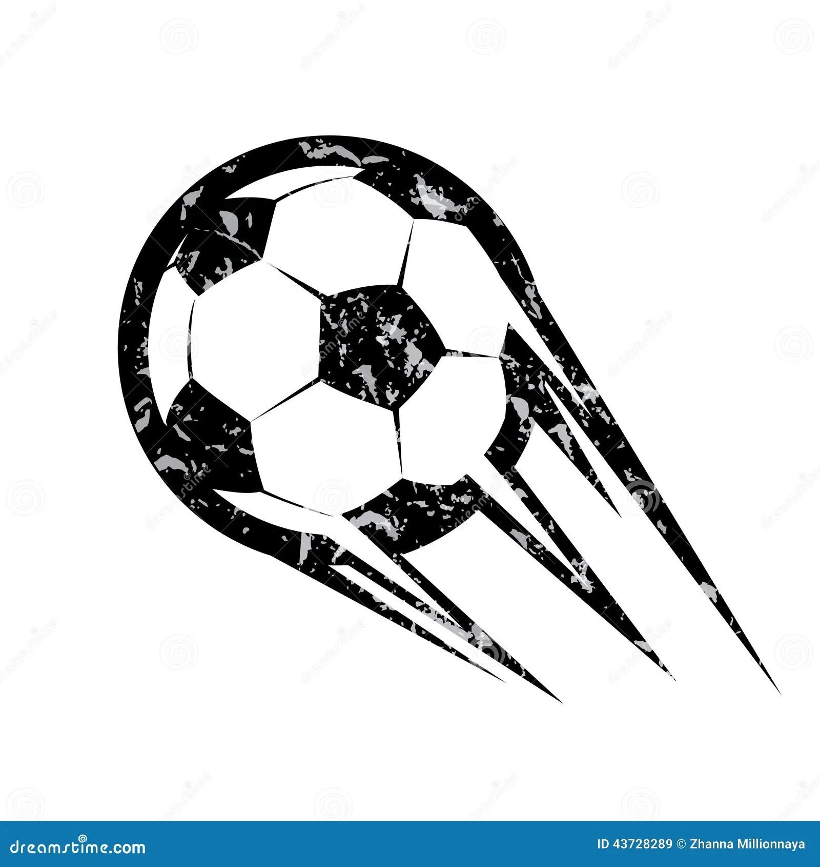 Soccer Ball Football Vector Symbol Stock Vector