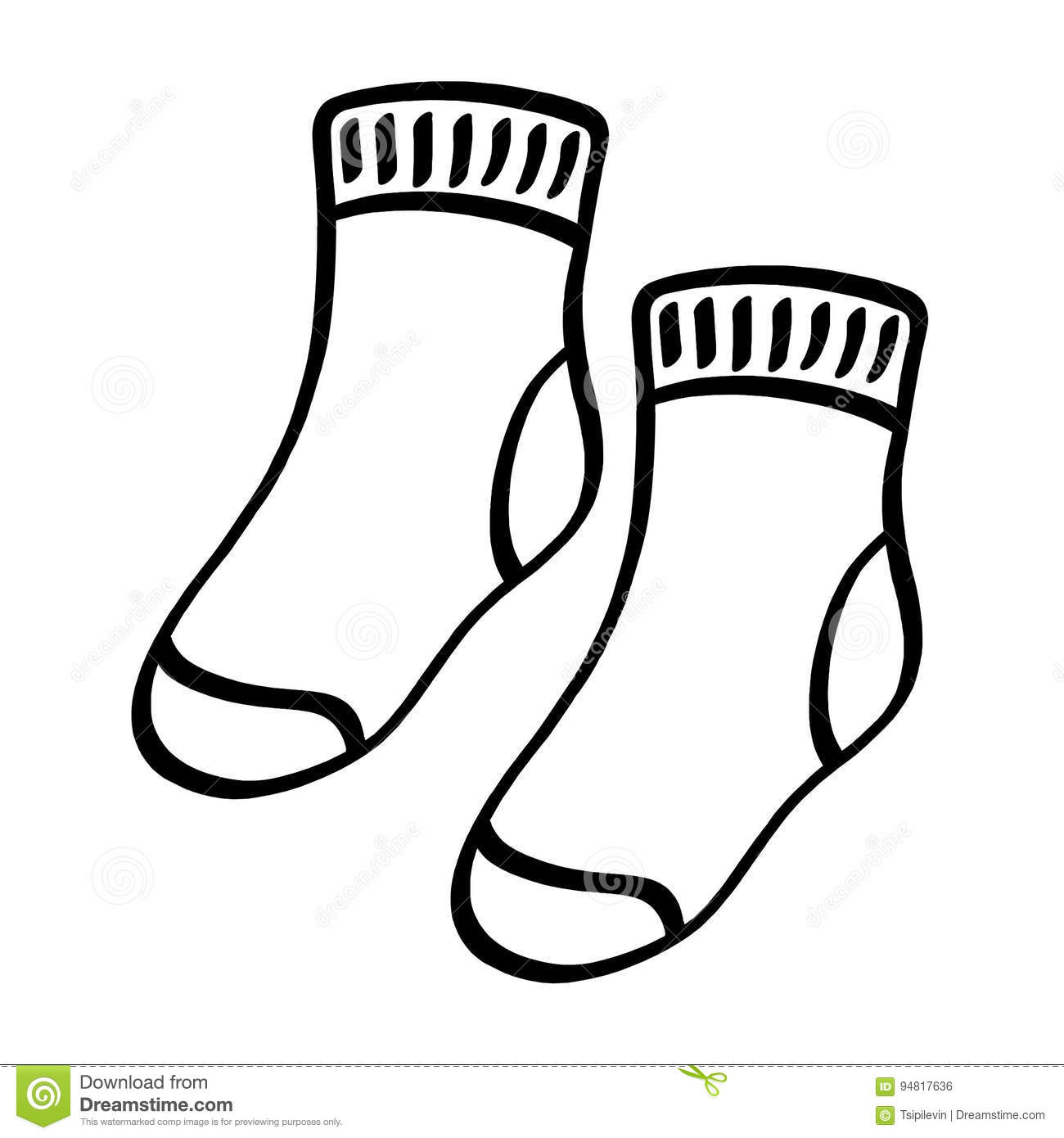 Socks Cartoons Illustrations Amp Vector Stock Images