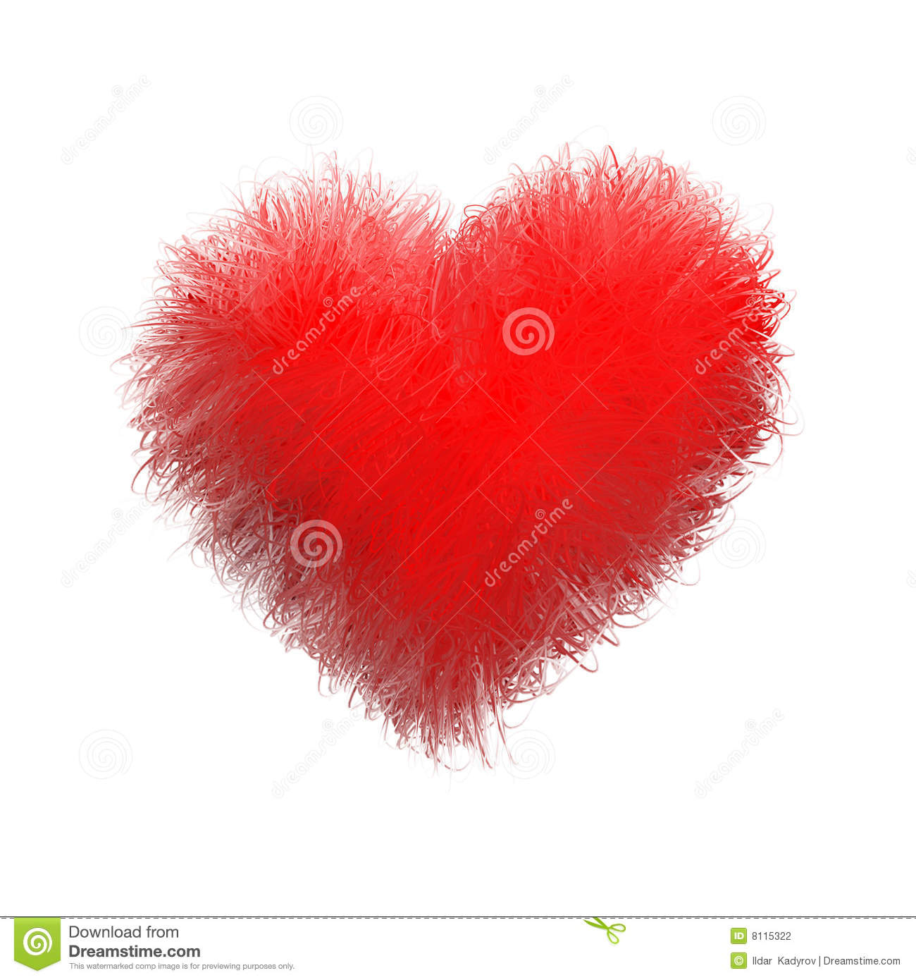 Soft Heart Stock Photography Image 8115322