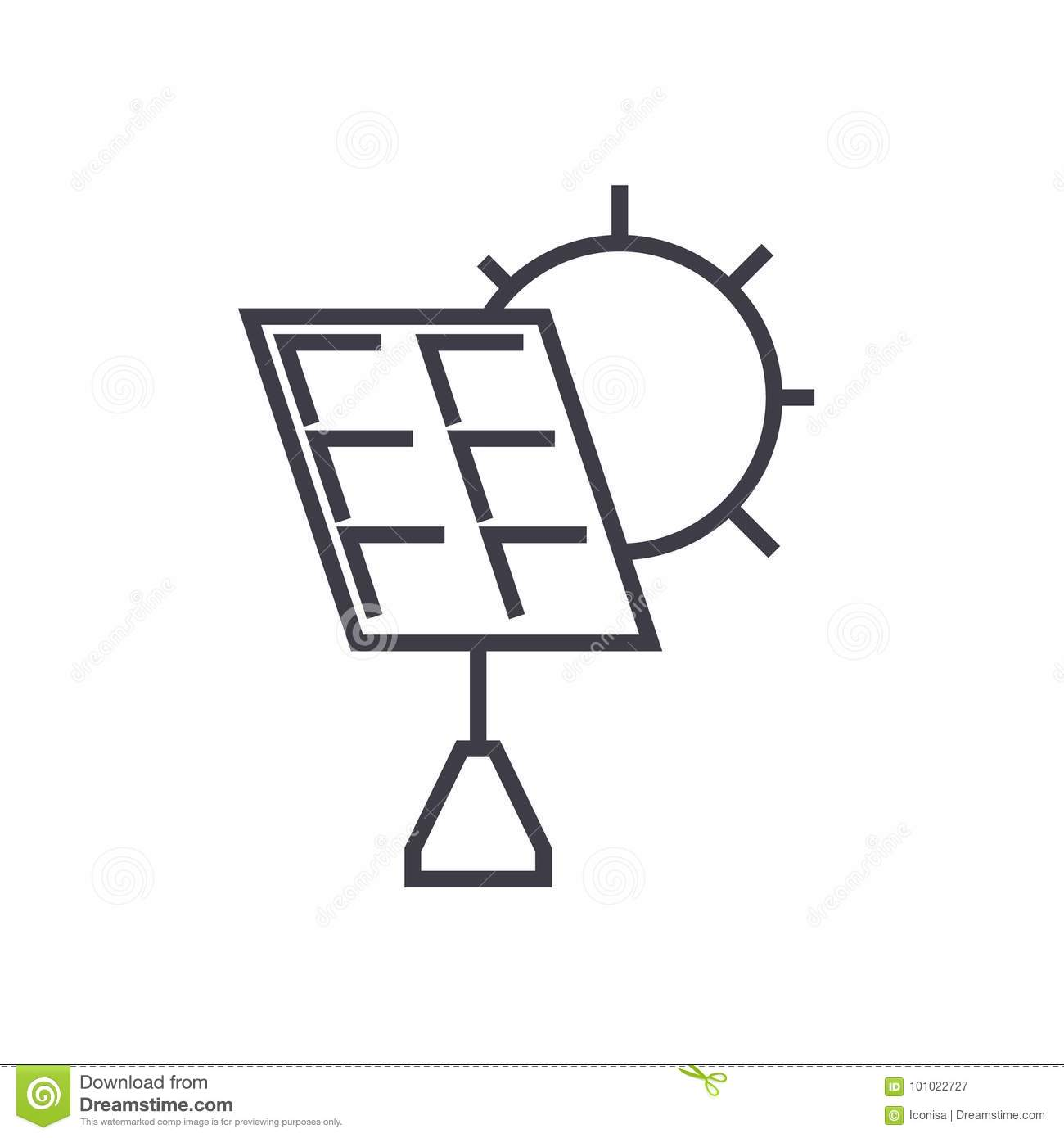 Electric Plug Sign Lamp And Battery Cartoon Vector