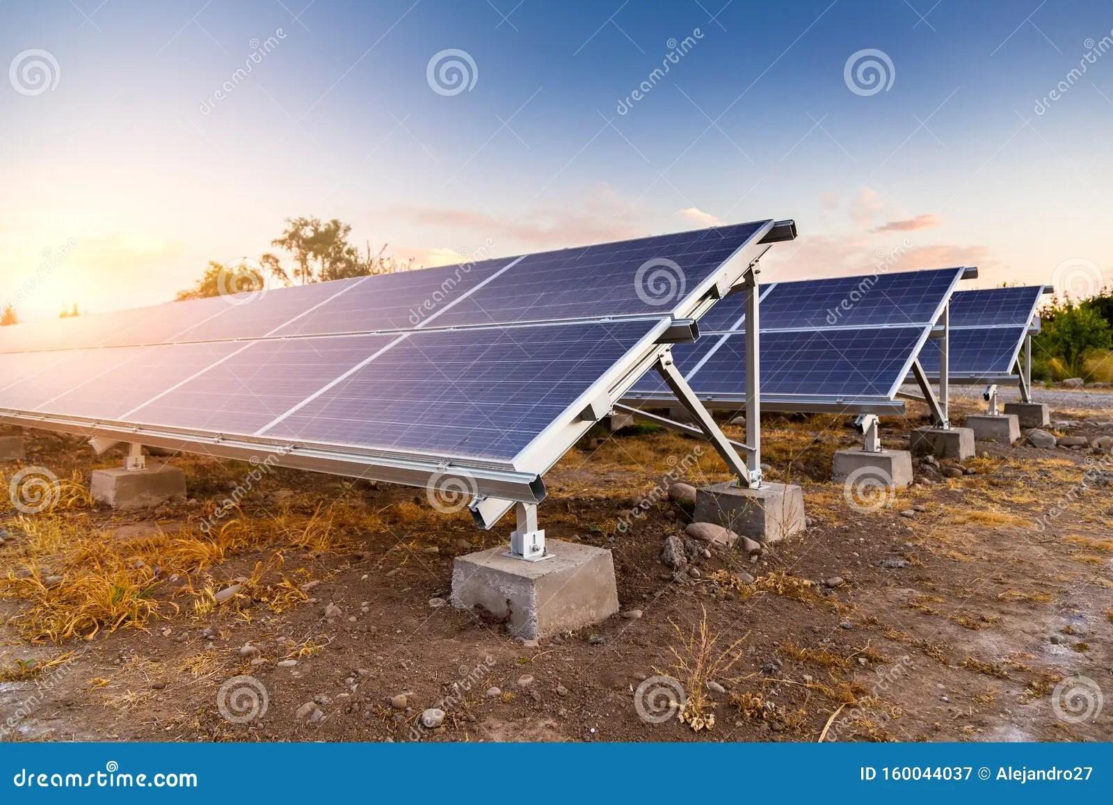 Solar Panels Alternative Energy Source Photovoltaic