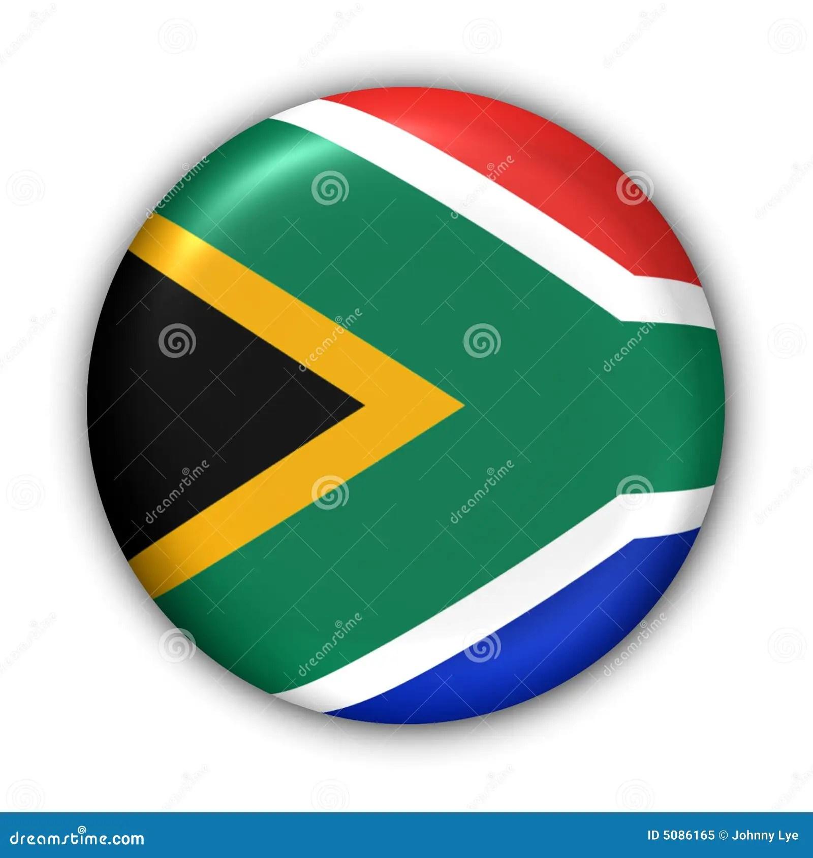 South Africa Flag Stock Illustration Illustration Of