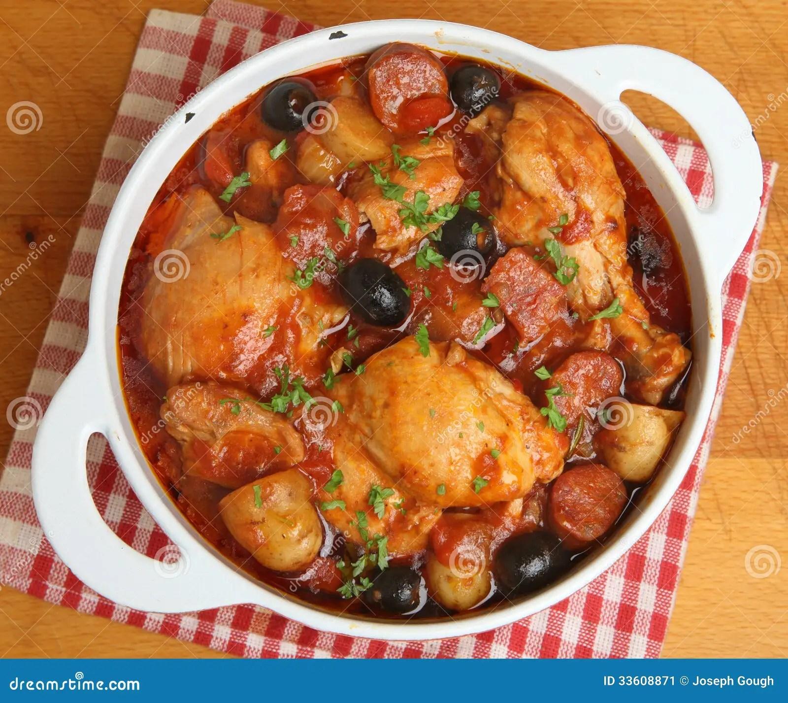 Spanish Chicken Stew With Potatoes