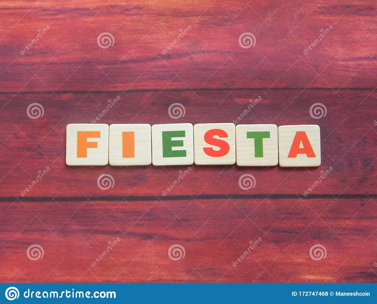 Word Fiesta Stock Photo Image Of Design Backdrop