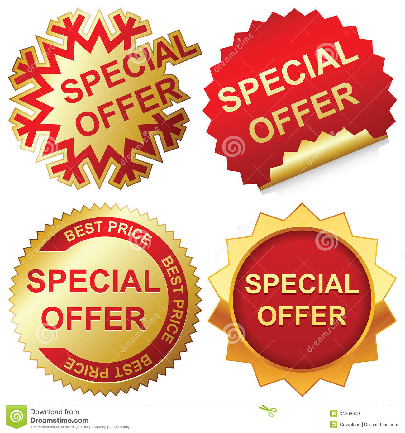 Special Offer Royalty Free Stock Images Image 34208609