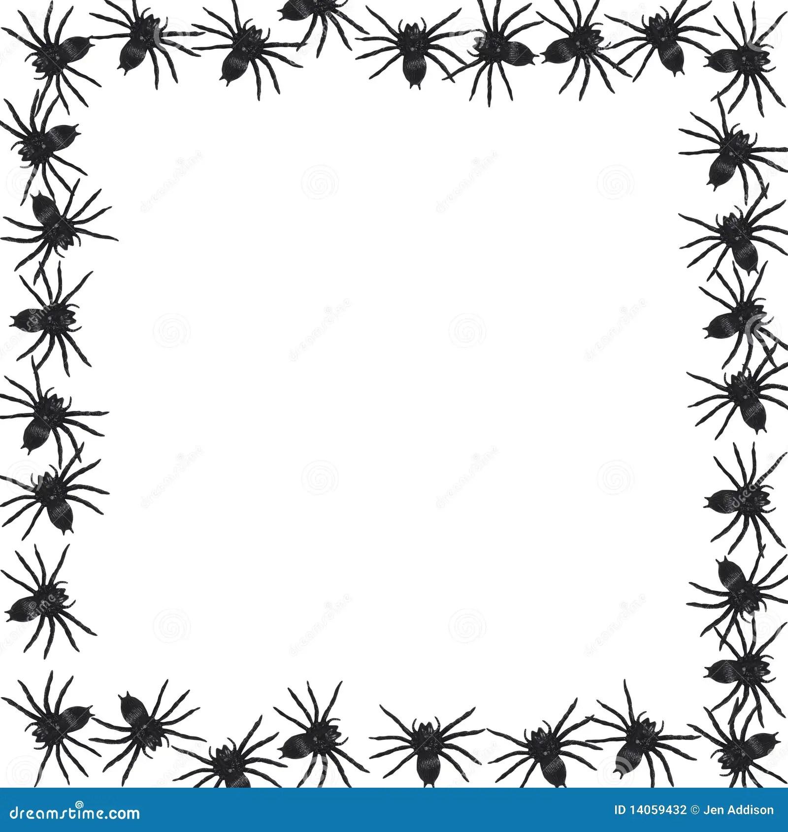 Spider Border Vector Stock Vector Illustration Of Design