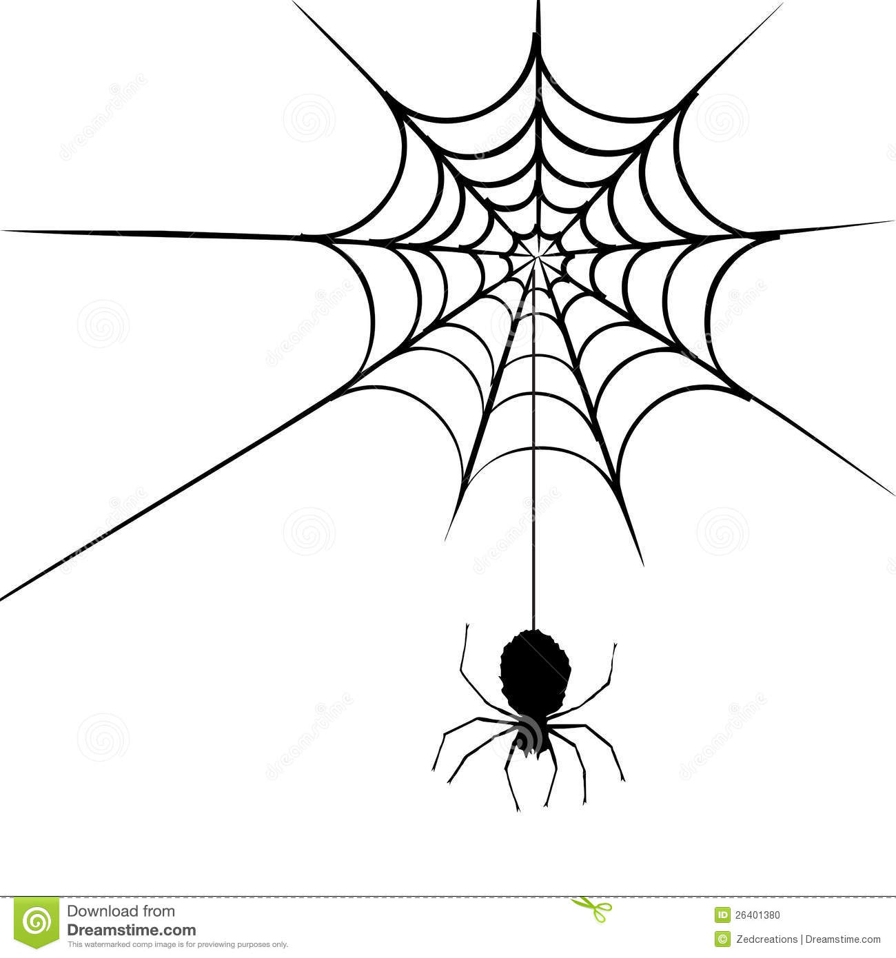 Spider Web Stock Vector Illustration Of Background