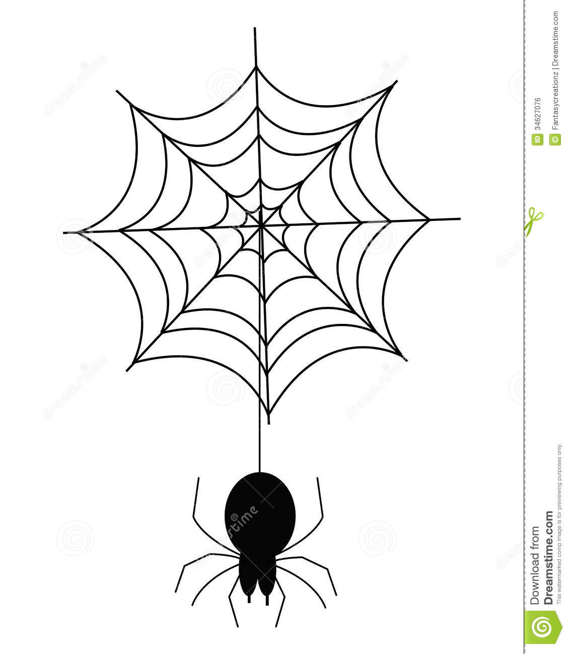 Spider Web Stock Vector Image Of Spiderweb Illustrated