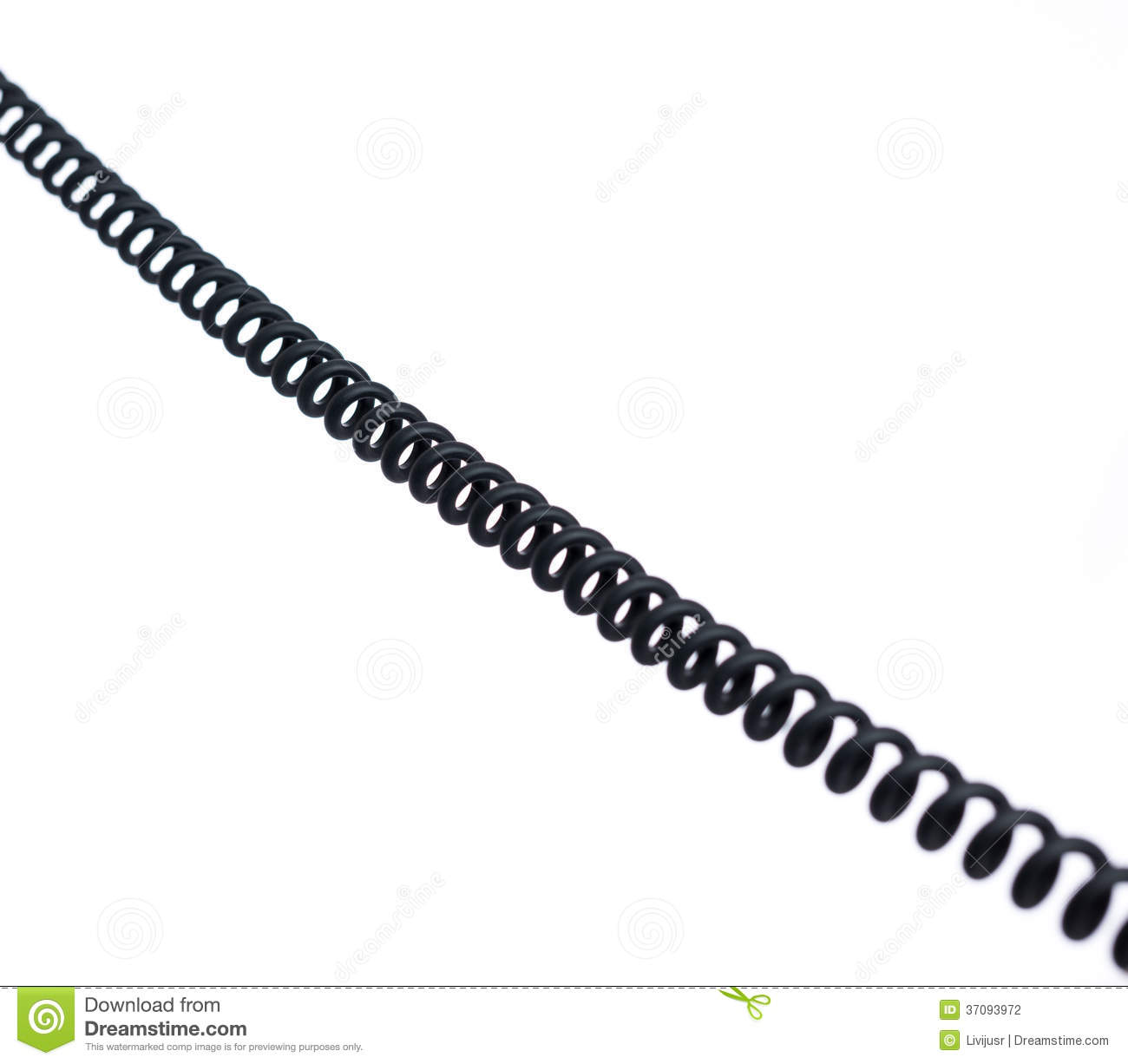 Spiral Cord Stock Photography