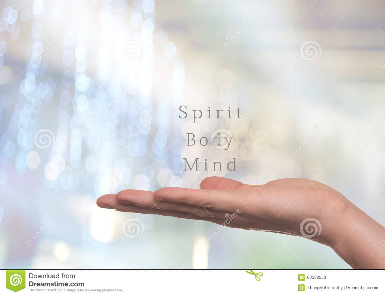 Spirit Body And Mind Stock Image Image Of Belief