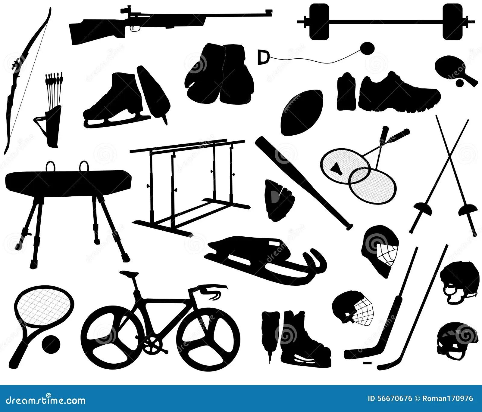 Sports Equipment Stock Vector Illustration Of Racket