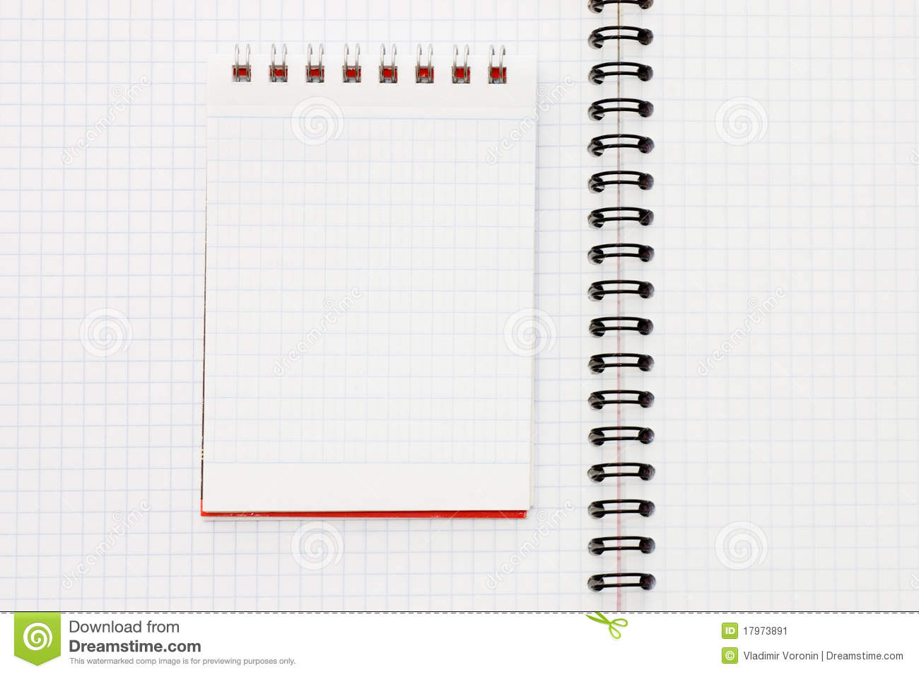 Spring Notebook Clipart
