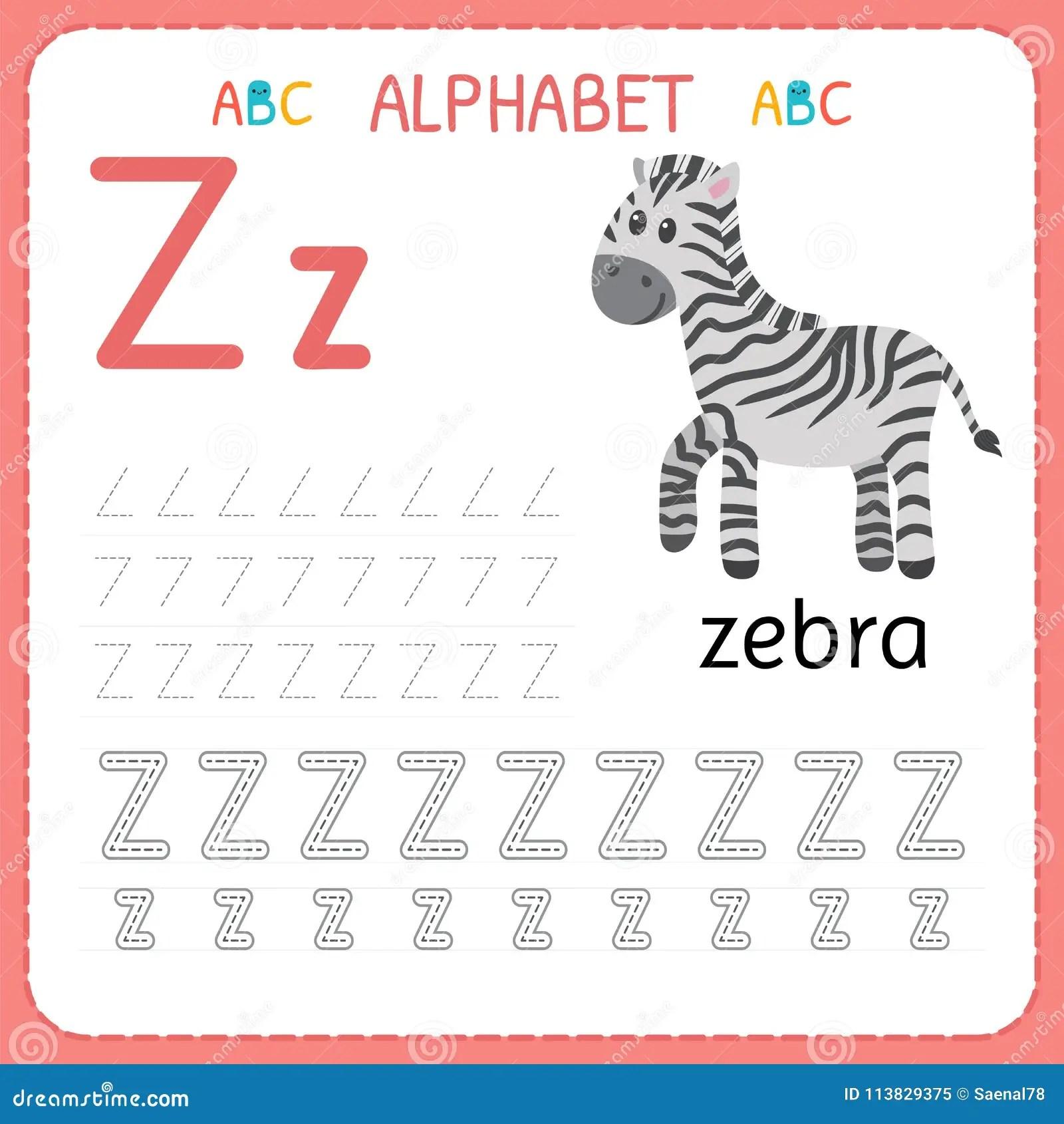 Spurarbeitsblatt Des Alphabetes Fur Vorschule Und