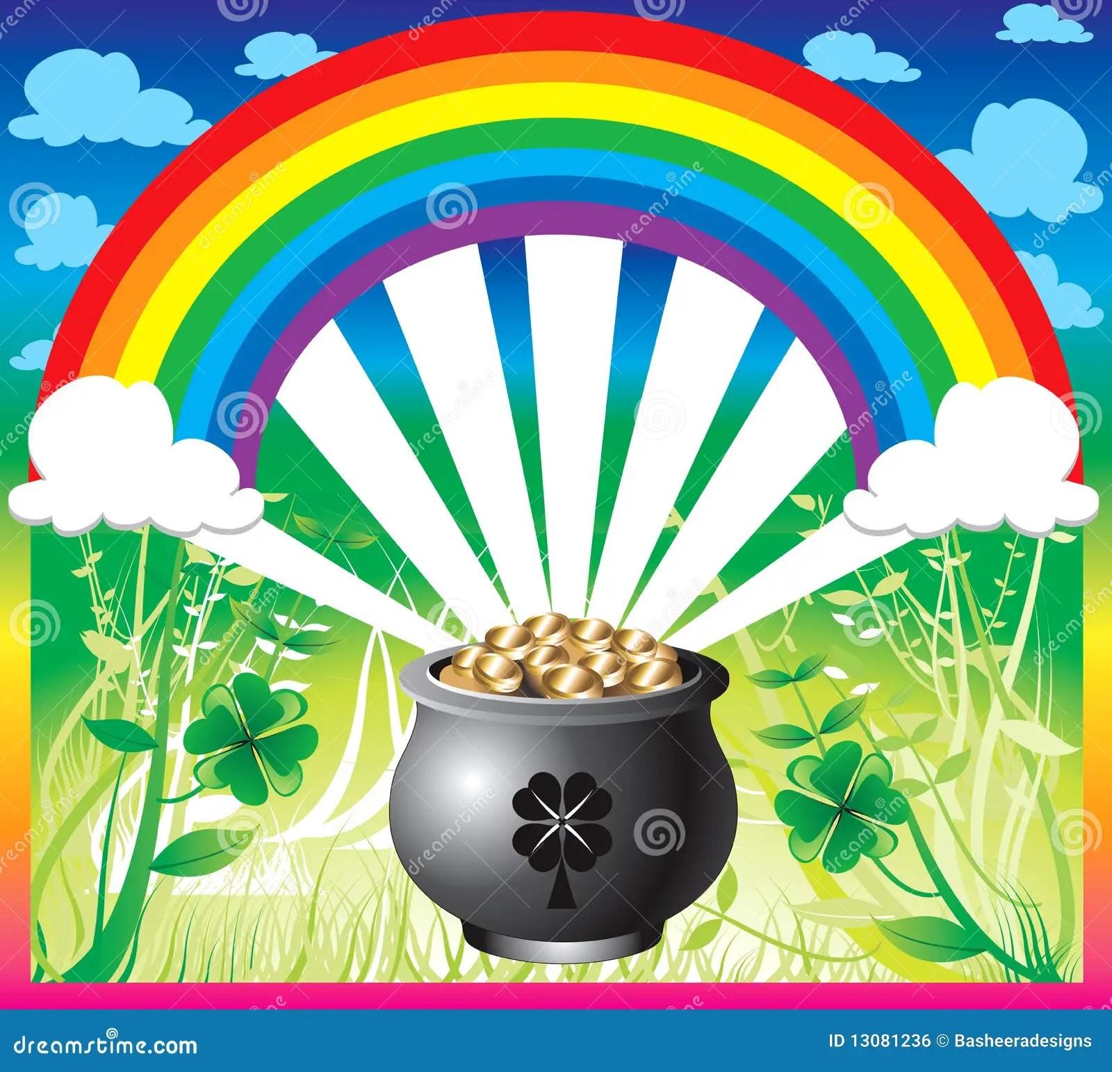 St Patrick S Day Rainbow Royalty Free Stock Image