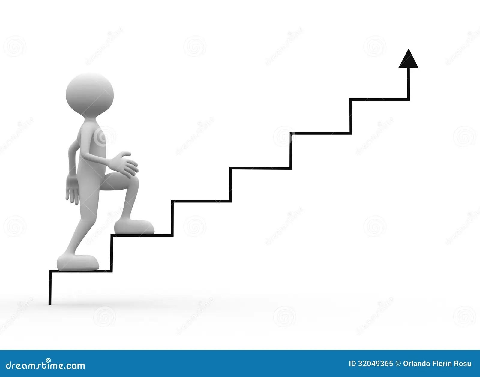Stair Stock Illustration Illustration Of Economic