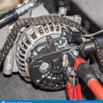 Car Alternator Repair At A Special Stand Stock Photo Image Of Gearbox Concept 135179780