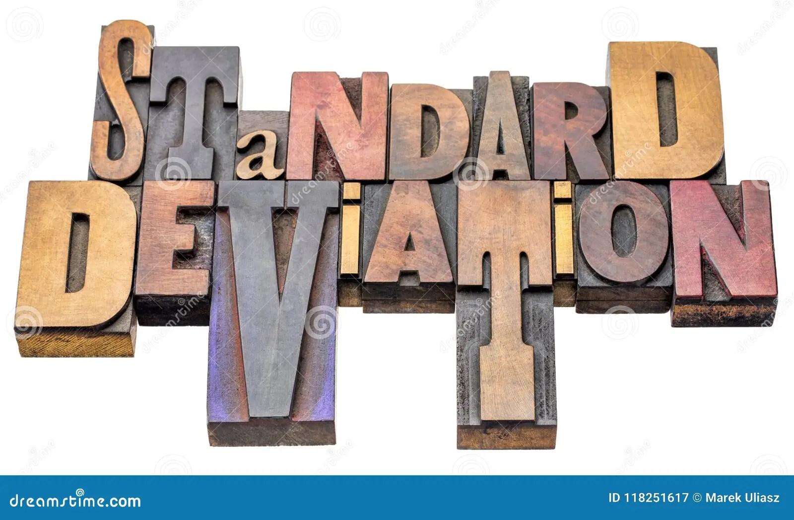 Standard Deviation Stock Photos