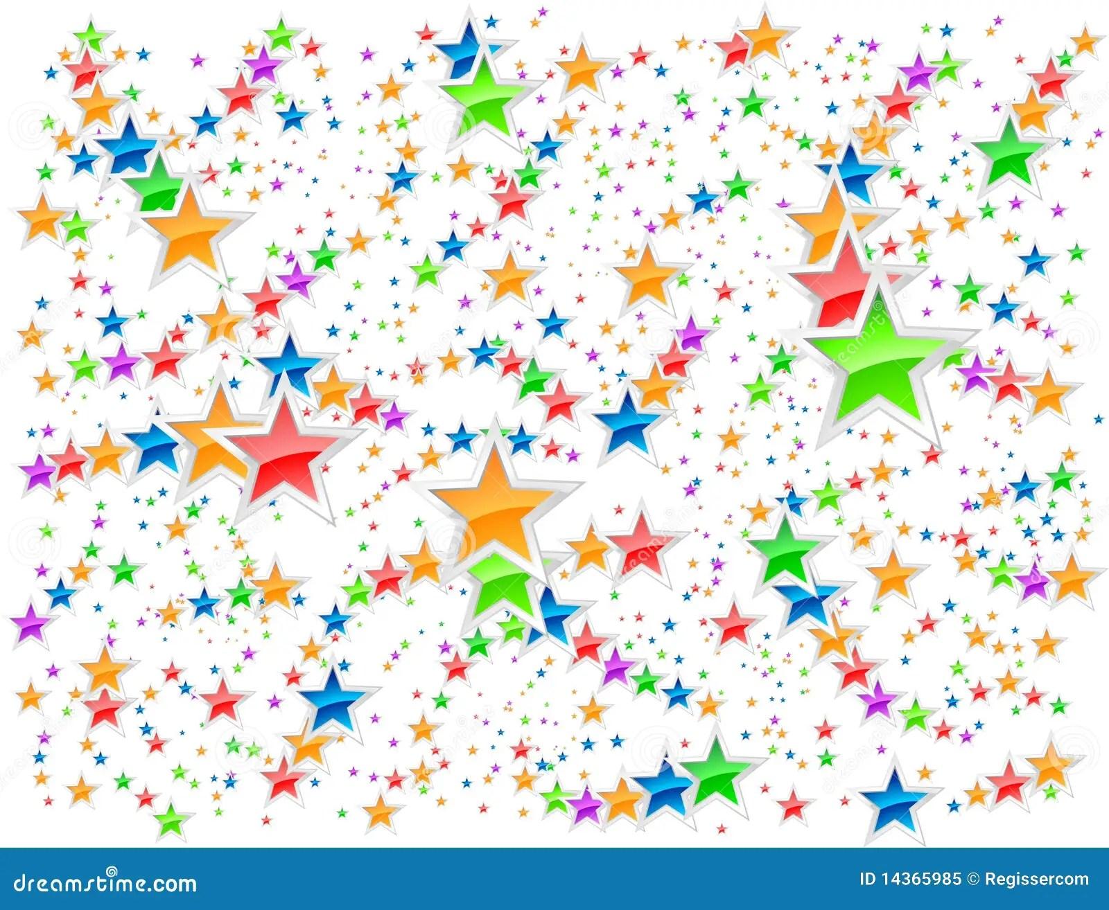 Stars Background Stock Vector Image Of Decoration Light