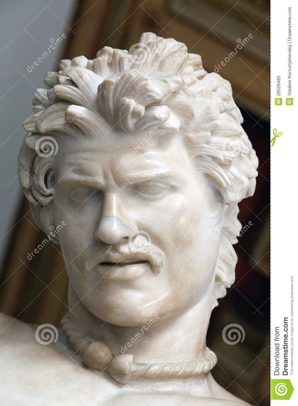 Statue Of The Dying Gaul Royalty Free Stock Photo Image
