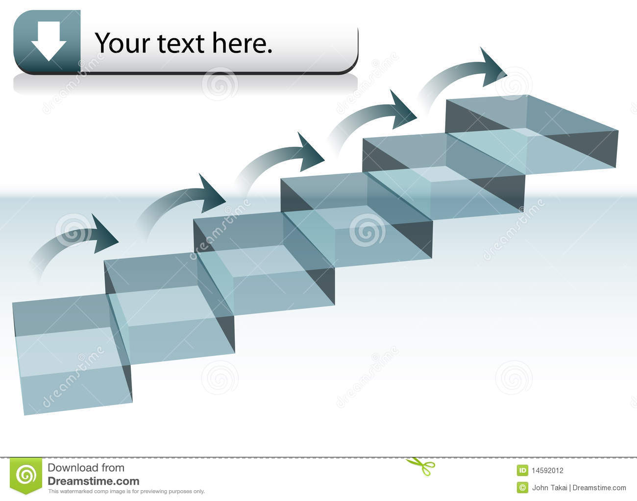 Step Chart Stock Photography