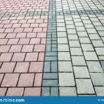 Stone Pavement In Perspective Granite Cobblestone Pavement Tiles Stock Photo Image Of Driveway Floor 150462226