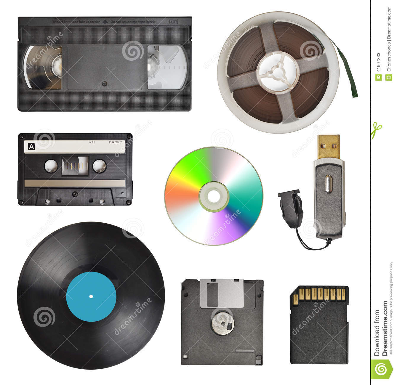 Storage Devices Stock Image Image Of Read Data Copy