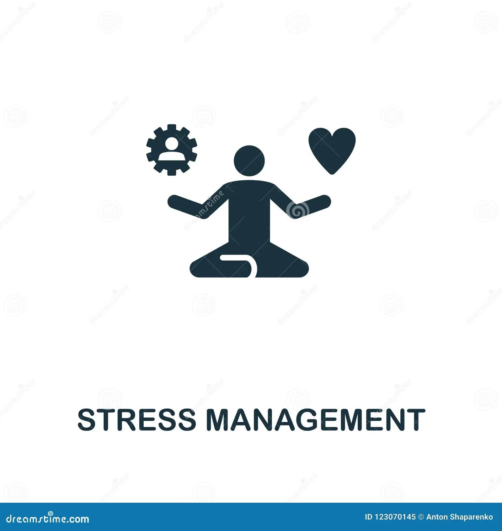 Stress Management Creative Icon Simple Element