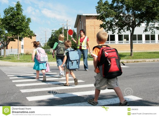 Image result for picture showing tenegers crossing the road