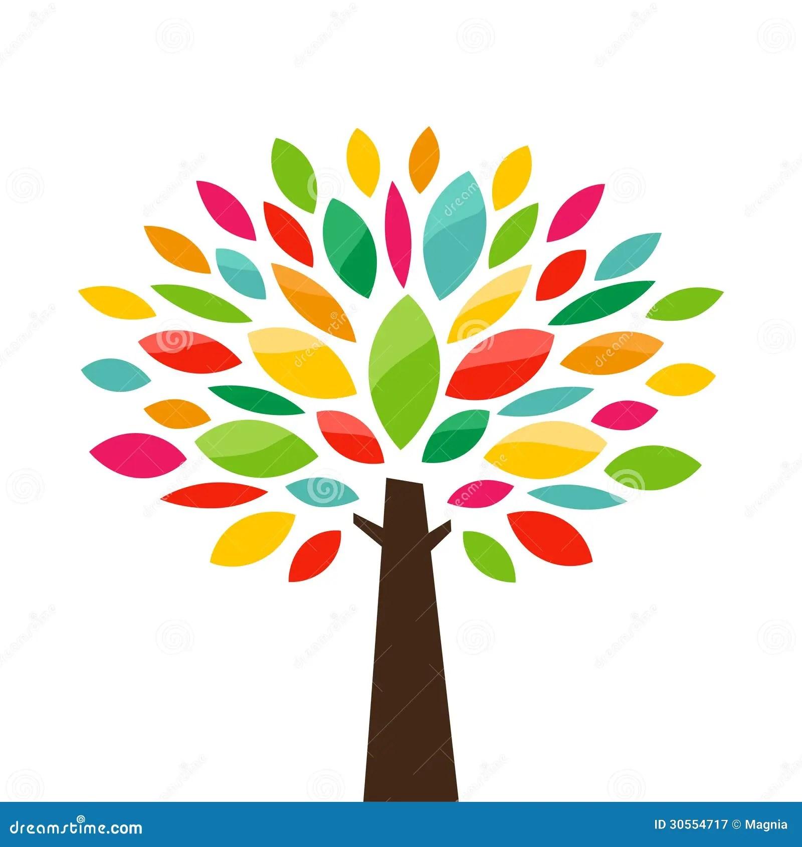 stylized tree royalty free stock photography image 30554717