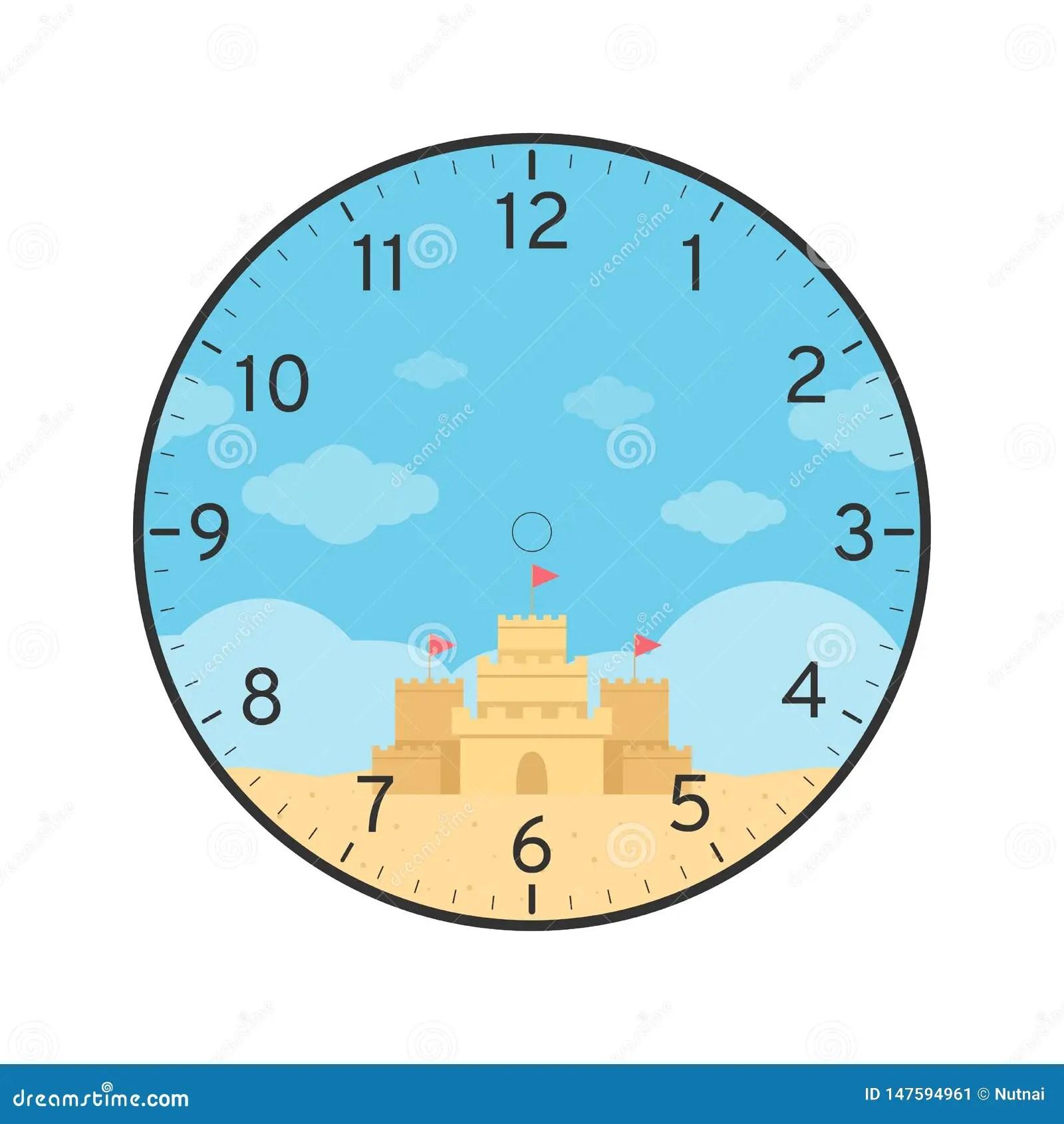 Dynamite Clock Face Printable