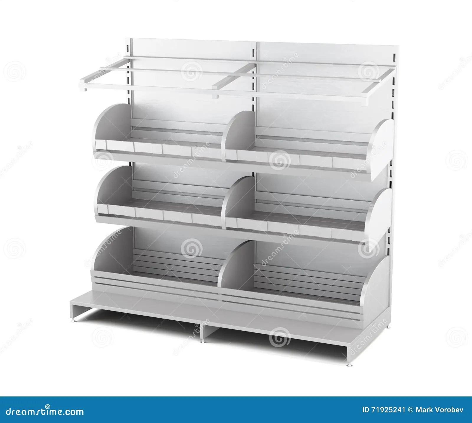 support en bois pour des produits de boulangerie d isolement sur le fond blanc 3d