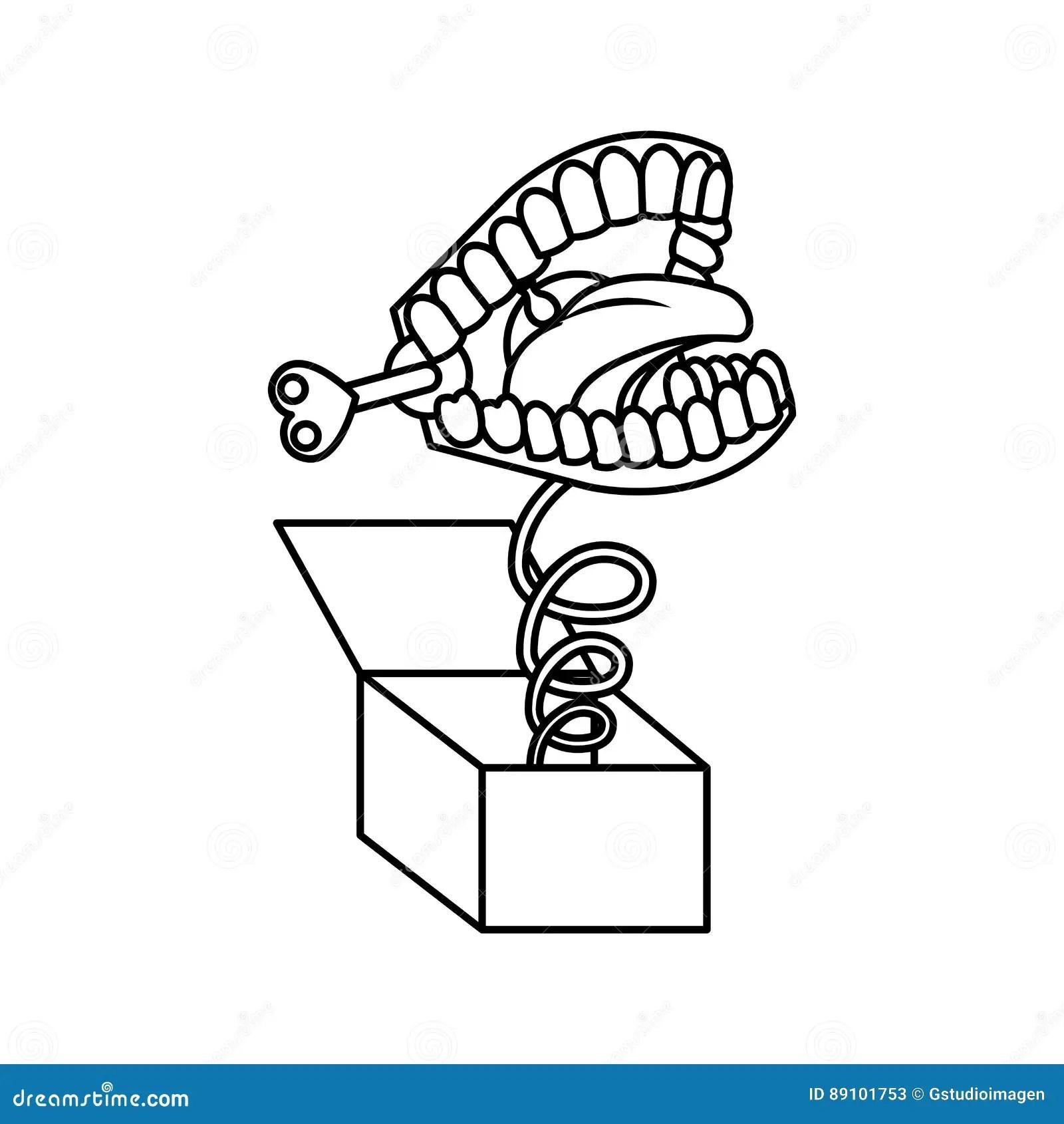 Box Joke Cartoon Vector