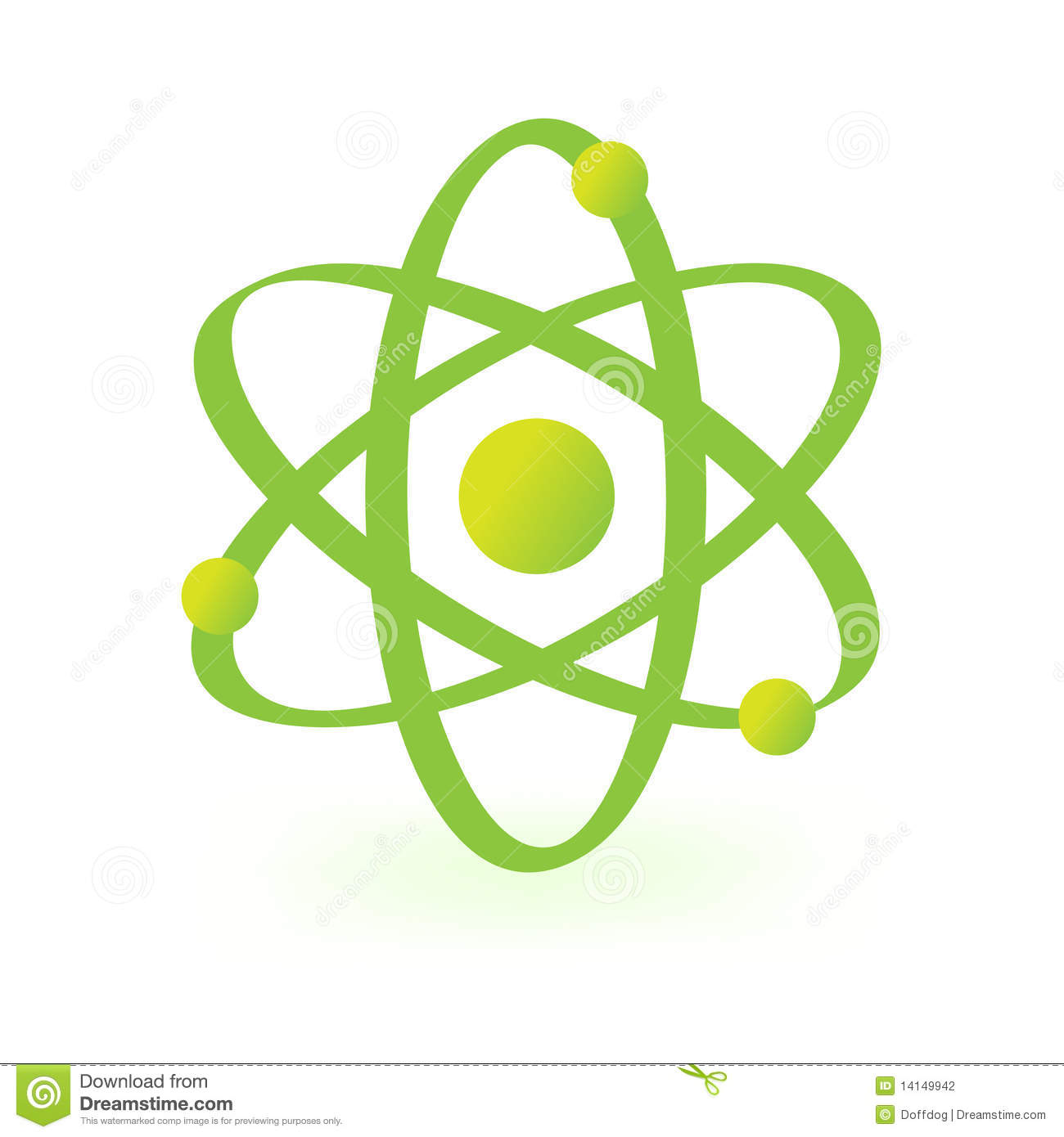 Symbol Of Atomic Technology Stock Vector