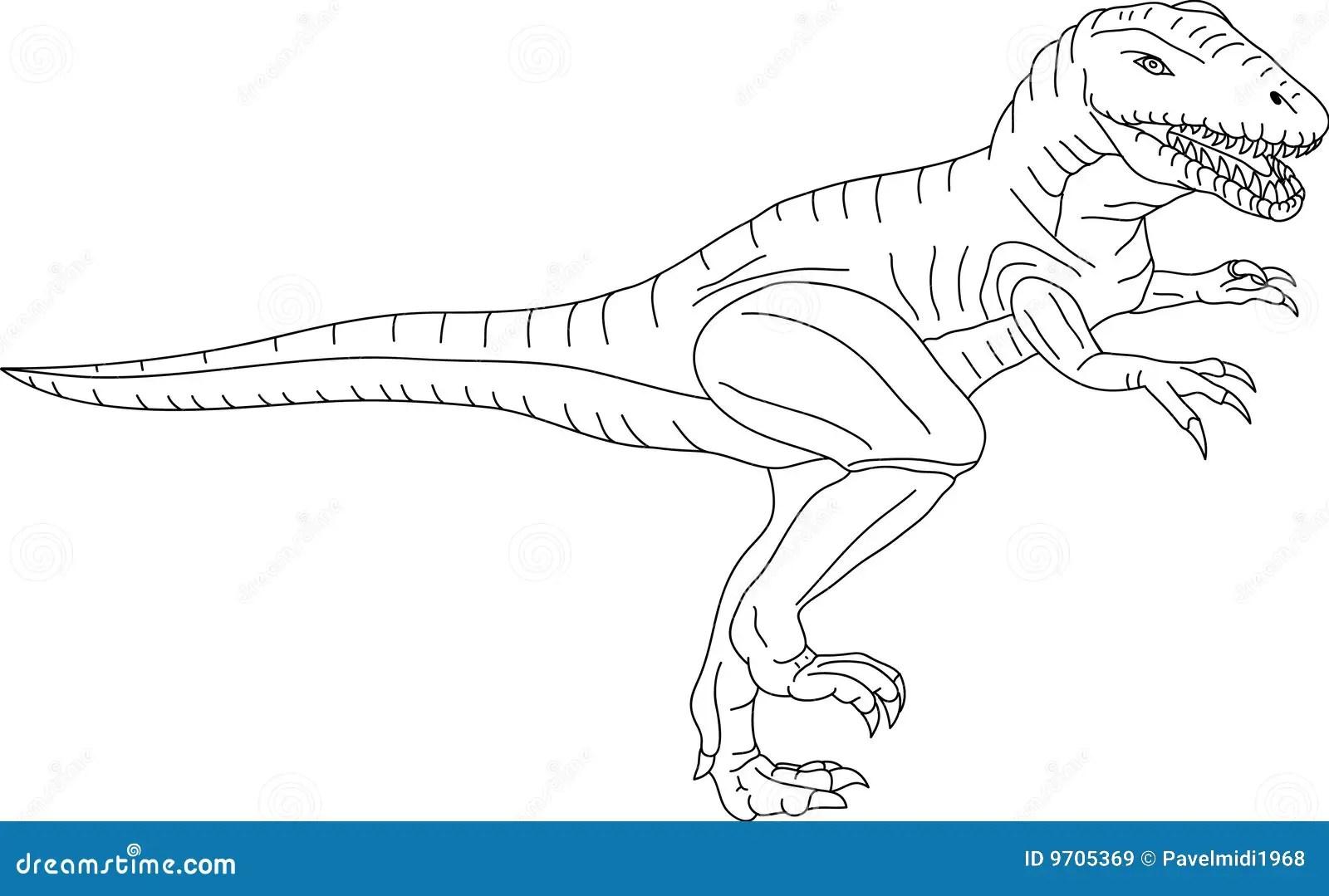T Rex Ilustracao Do Vetor Ilustracao De Cartoon Cabeca