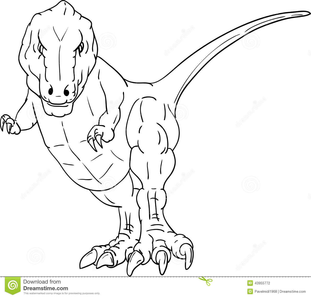 T Rex Stock Vector Image Of Dino Creature Hunter