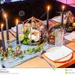Table Setting For Date In Restaurant Selective Focus Stock Photo Image Of Relaxation Dinner 93857324