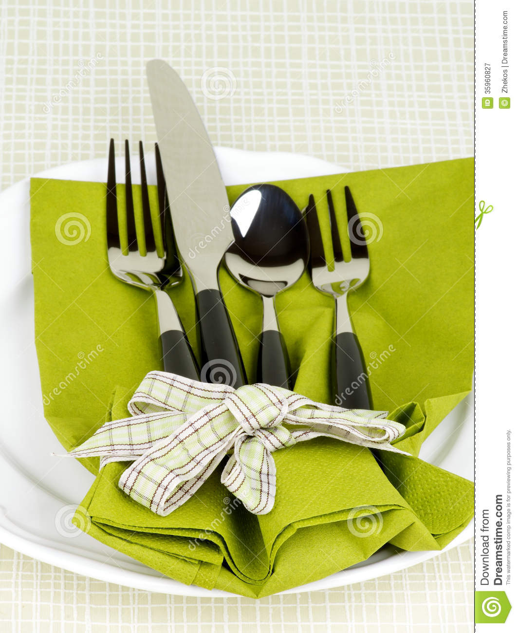 Table Setting Royalty Free Stock Photography Image 35960827