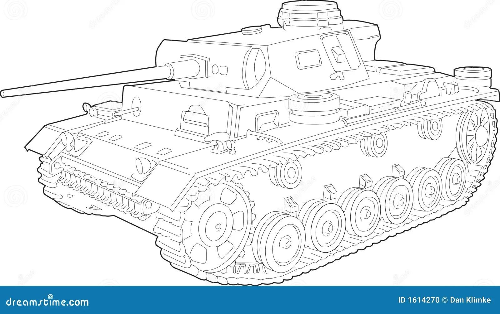 Tank Illustration Stock Vector Illustration Of Blast