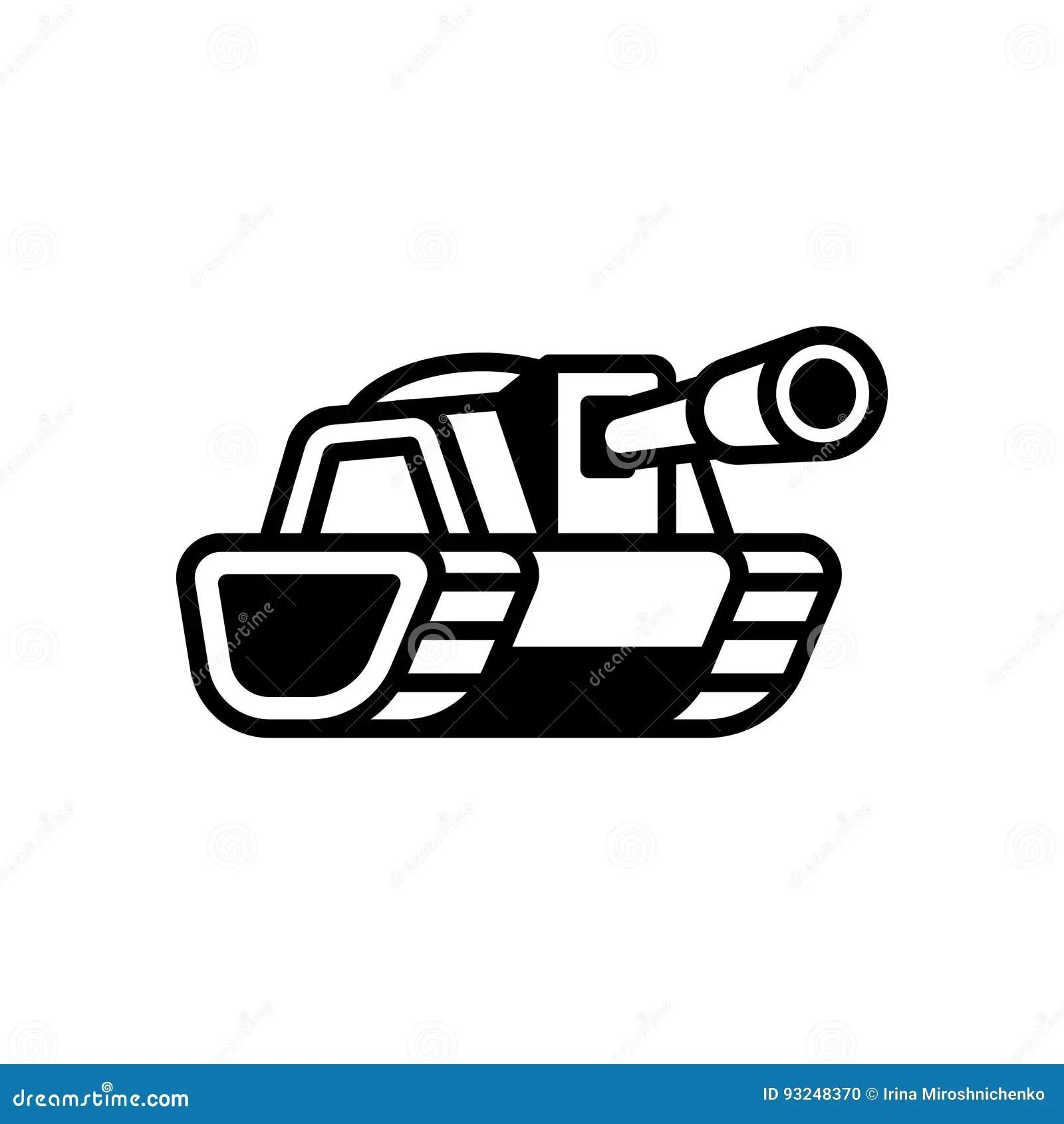 Tank Logo Illustration Stock Vector Illustration Of