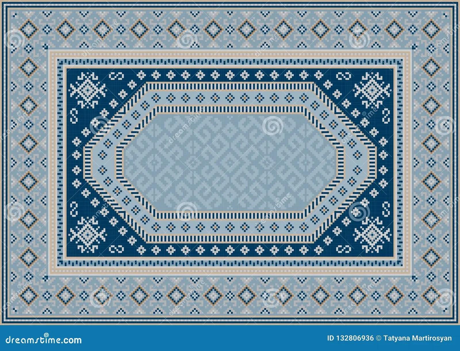 tapis oriental de luxe dans des tons