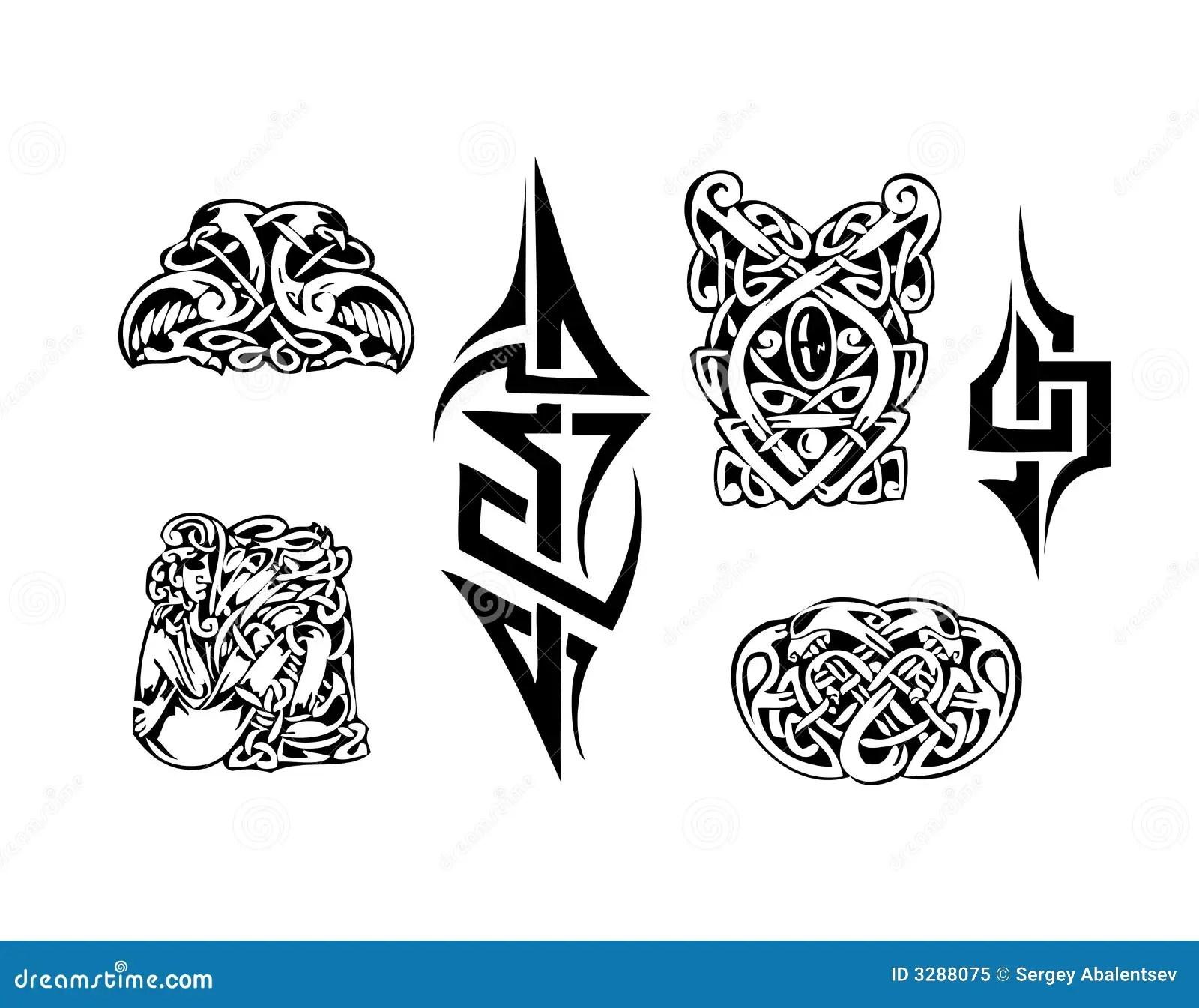 Tatoo Celtique De Vecteur Illustration De Vecteur