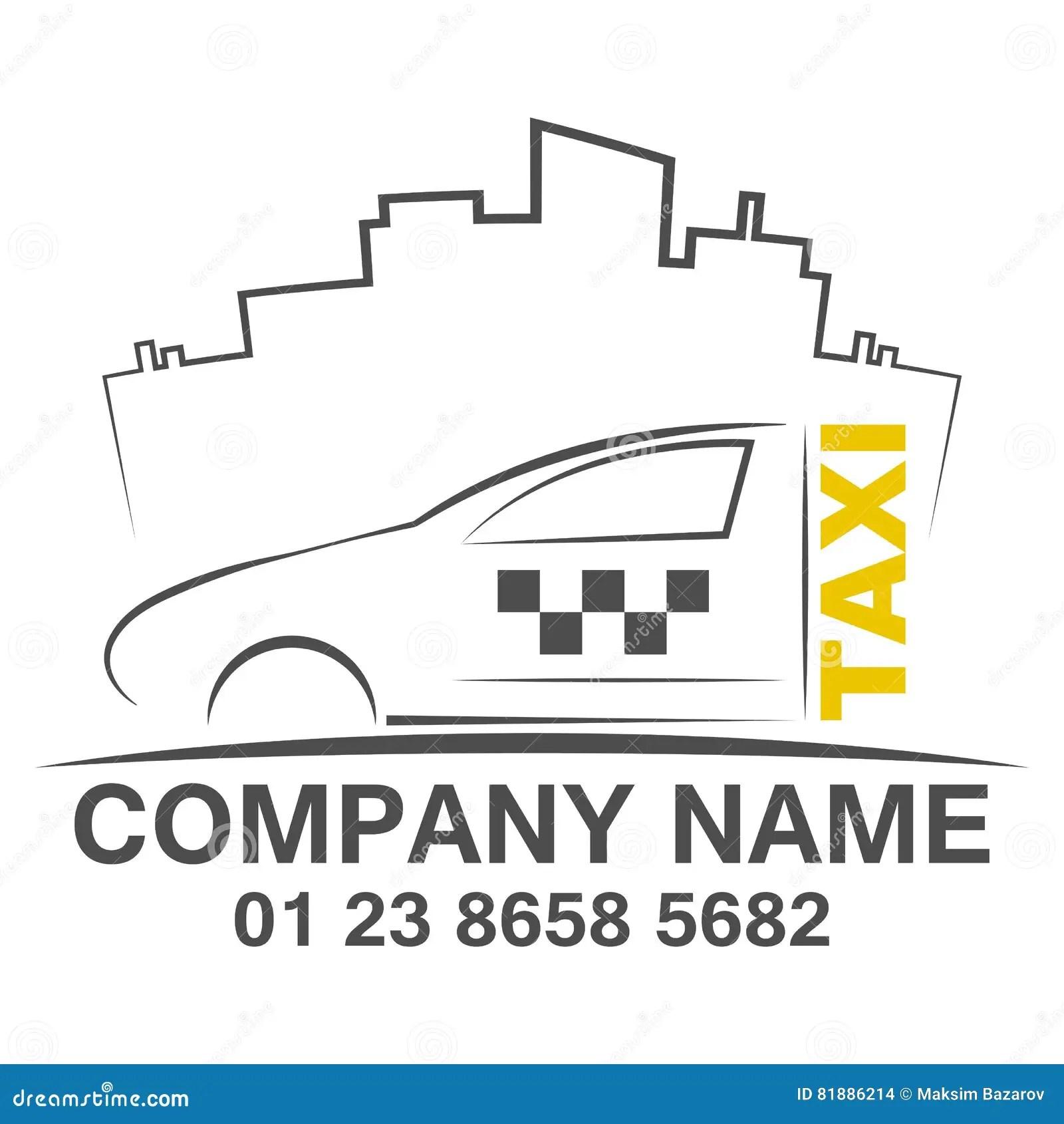 Taxi Logo Design Template Vector Illustration