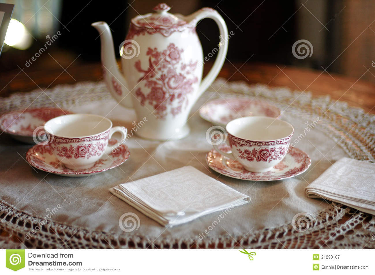 Tea Time Royalty Free Stock Photography Image 21293107