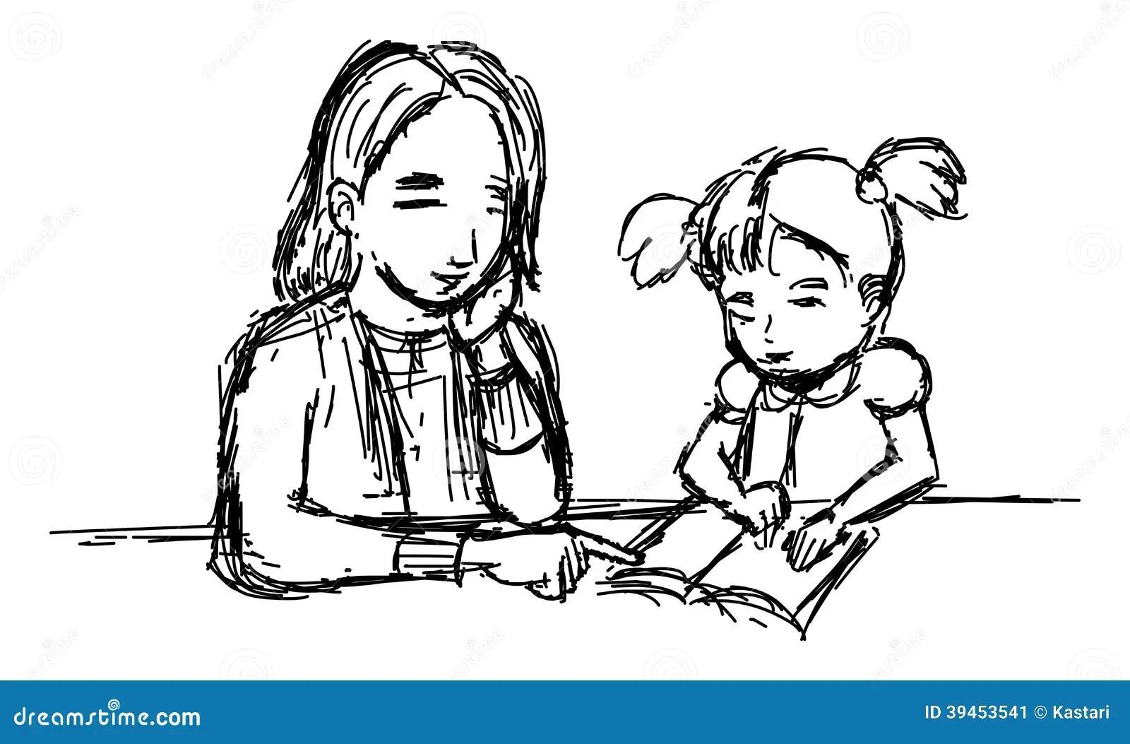 Teaching Stock Illustration Illustration Of Illustration