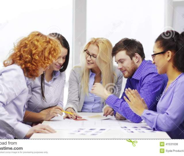 Team With Blueprint And Wallpaper Sample At Office Stock Footage Video Of Chart Company 41531638