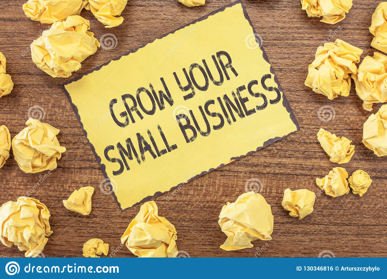 Text Sign Showing Grow Your Small Business Conceptual