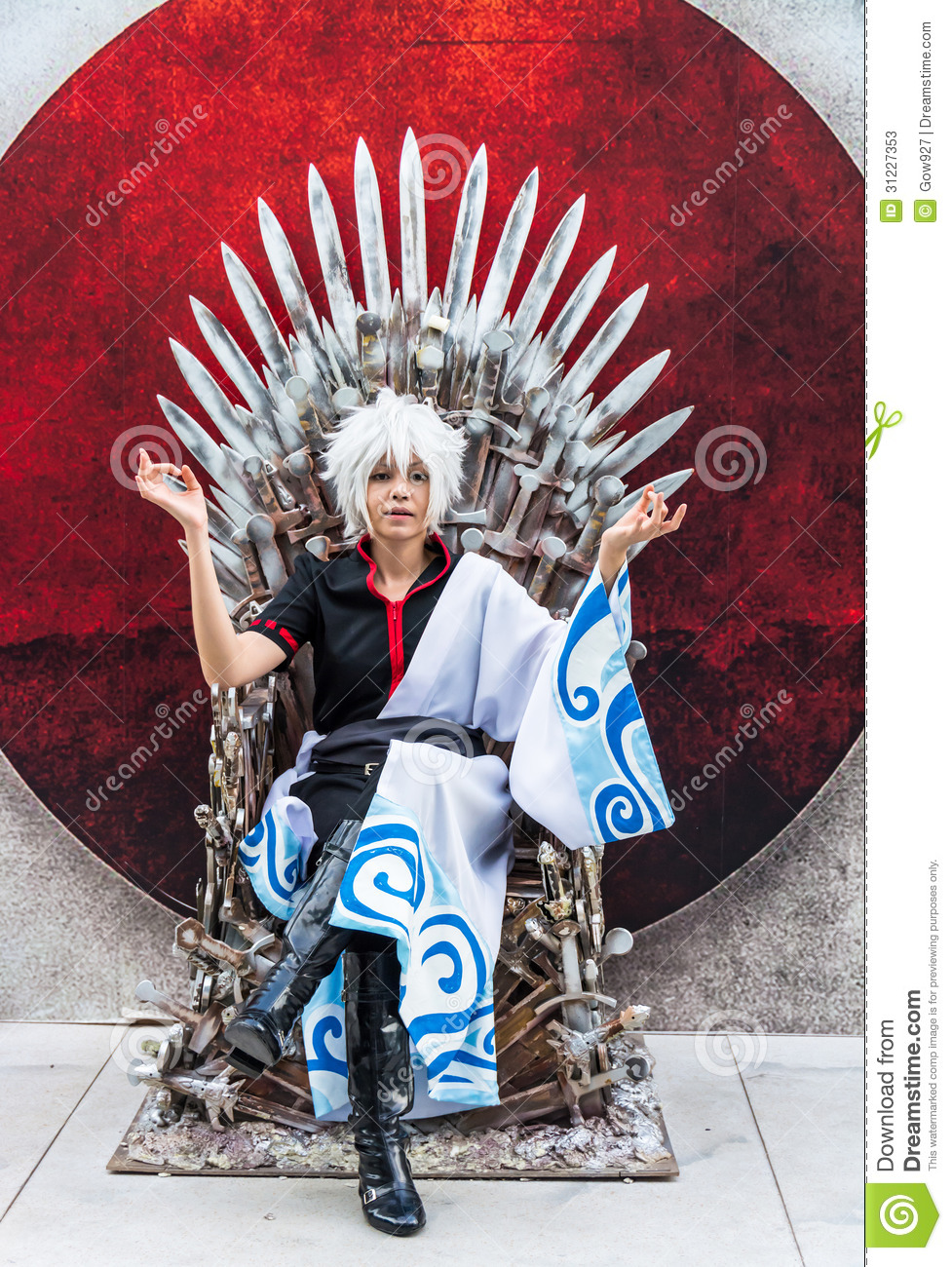 Thai Cosplayer Dresses As Sakata Gintoki From Gintama In