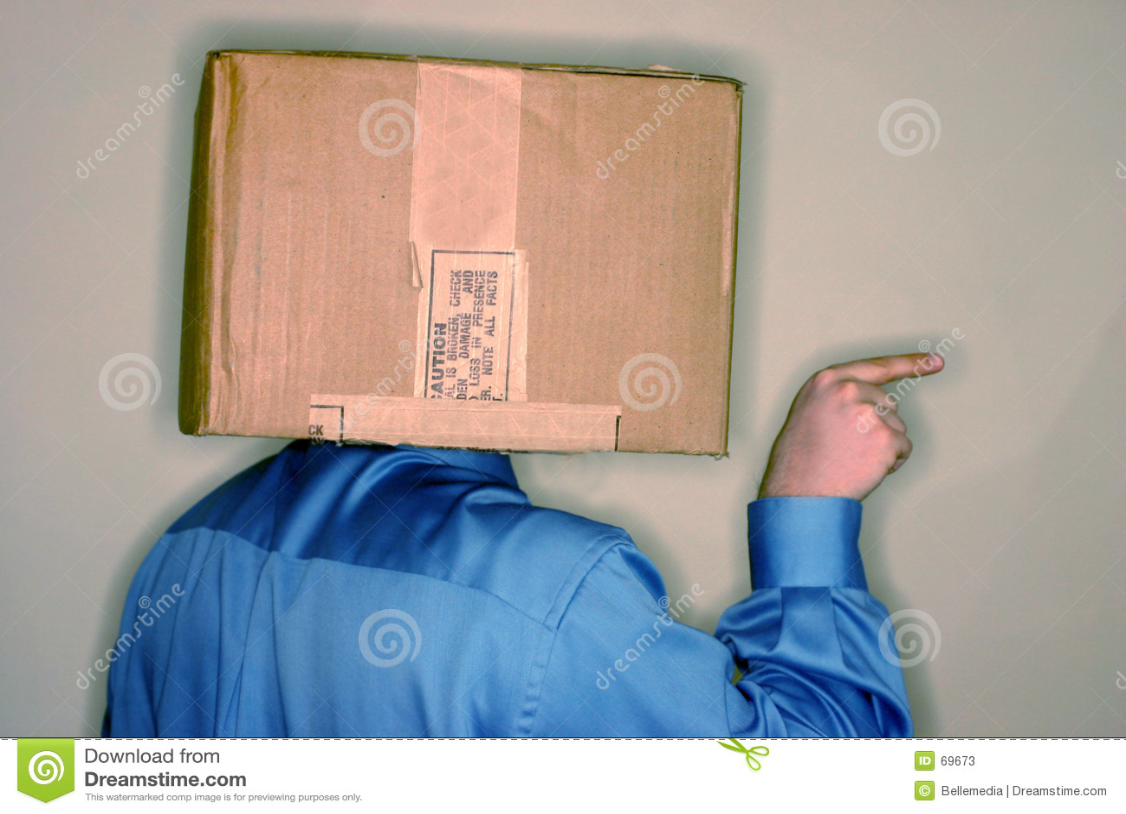 Think Outside The Box 2 Stock Image Image Of Employee