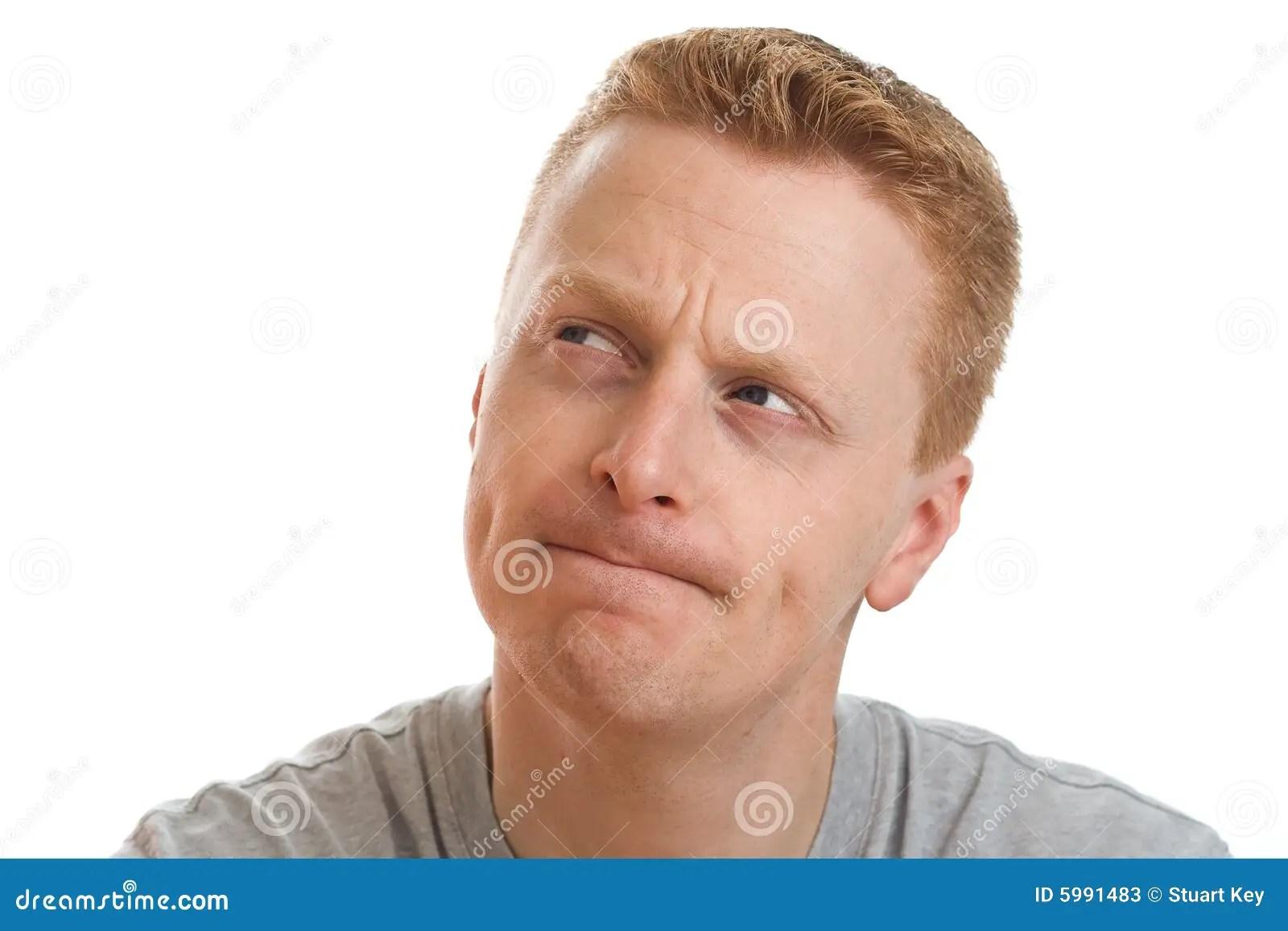 Thinking Carefully Stock Image Image Of Considering Head