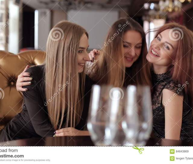 Three Happy Girls Laughing At A Bachelorette Party Stock Video Video Of Cheers Females 84643869